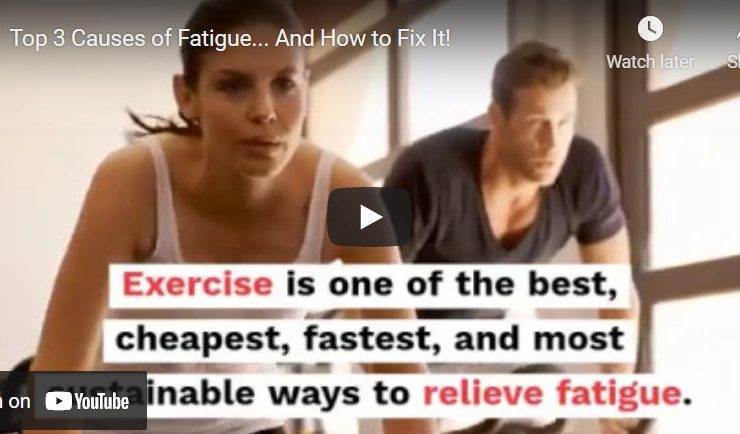 Top 3 Causes of Fatigue… And How to Fix It!